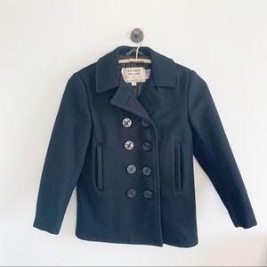 Vintage Jackets & Coats - Vintage Schott NYC U.S. 740N Pea Coat Jacket S